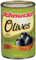 Schnucks Ripe Pitted Olives