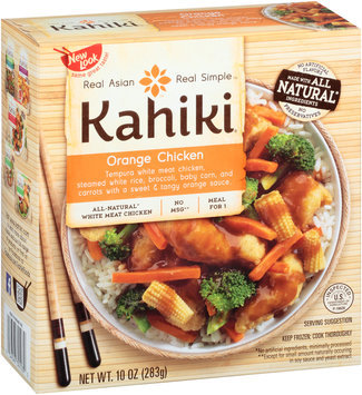 Kahiki® Orange Chicken Frozen Entree 10 oz. Box