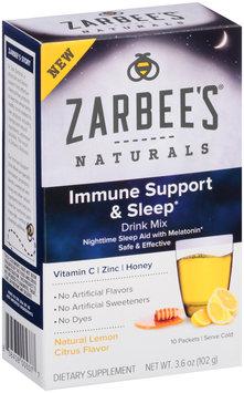 Zarbee's® Naturals Immune Support & Multivitamin Drink Mix 10 ct Box