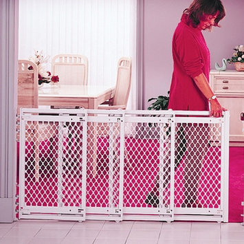 Northstates 8649 Supergate V Extra Wide Child and Pet Gate