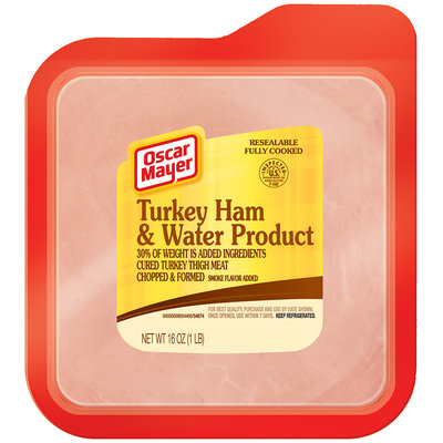 Oscar Mayer Cold Cuts  Turkey Ham 16 Oz Well