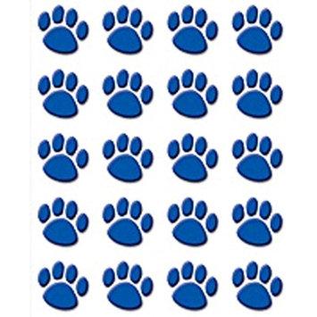 Teacher Created Resources Tcr5747 Blue Paw Prints Stickers 120 Stks