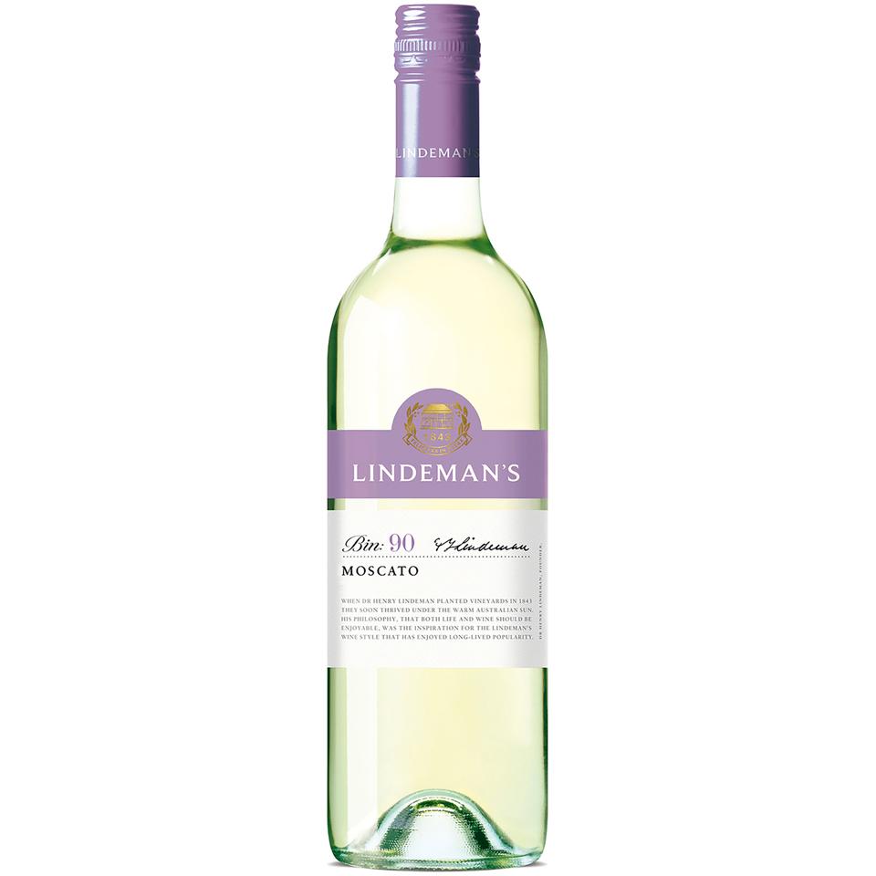 Lindeman's Bin: 90 Moscato Wine 1 ct. Bottle