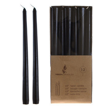 Mega Candles Taper Candle Size: 10