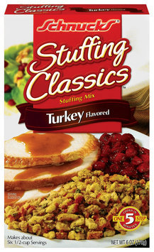 Schnucks Stuffing Classics Turkey Stuffing Mix 6 Oz Box