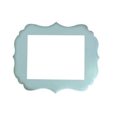 Secretly Designed London Frame Size: 8x10, Color: Baby Blue
