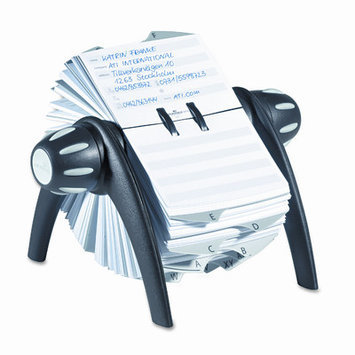 Durable TELINDEX Flip Rotary Address Card File