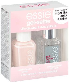 essie® gel.setter Duo Kits Ballet Slippers 2-0.46 fl. oz. Bottles