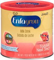 Enfagrow™ Toddler Next Step™ 3 Natural Milk Flavor Milk Drink  24 oz. Canister