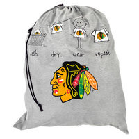 Forever Collectibles NHL Laundry Bag - Chicago Blackhawks