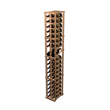Wine Cellar Designer Series 38 Bottle 2 Column Individual with Display Wine Rack