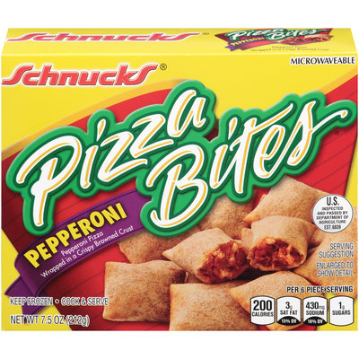 Schnucks® Pepperoni Pizza Bites 7.5 oz. Box