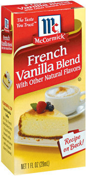 McCormick® French Vanilla Blend Extracts