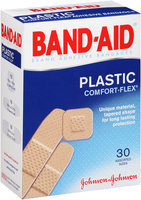 Band-Aid® Plastic Comfort-Flex® Adhesive Bandages 30 ct Box