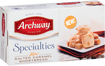 Archway® Specialties Mini Salted Caramel Shortbread Cookies 6 oz. Box
