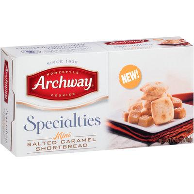 Archway® Specialties Mini Salted Caramel Shortbread Cookies 6 oz. Box