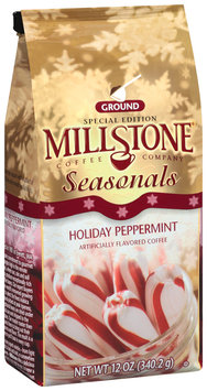 Millstone Seasonals Holiday Peppermint Ground Coffee 12 Oz Bag
