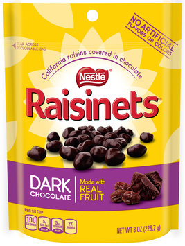 RAISINETS Dark Chocolate 8 oz. Standup Bag
