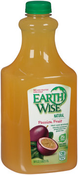 Earth Wise® Passion Fruit Juice Beverage 59 fl. oz. Bottle