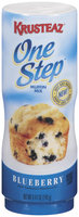 Krusteaz One Step Blueberry Muffin Mix 8.47 Oz Plastic Container