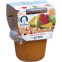 Gerber 3rd Foods Island Fruit Blend with Lil' Bits 2-5 oz. Packs
