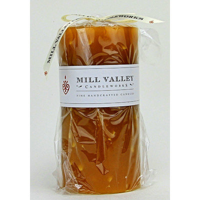 Mill Valley Candleworks Ginger Lemongrass Scented Pillar Candle Size: 6