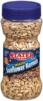 Stater Bros. Unsalted Sunflower Kernels 7.25 Oz Canister