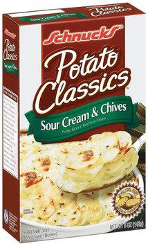 Schnucks Sour Cream & Chives Potato Classics 5 Oz Box