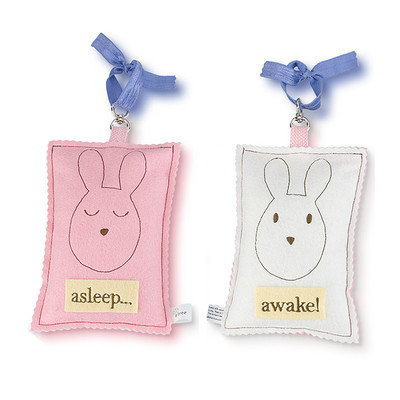 Tree By Kerri Lee Bunny Asleep / Awake Sign