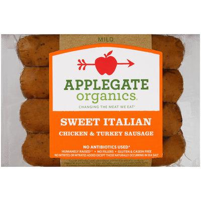 Applegate Organics® Sweet Italian Mild Chicken & Turkey Sausage
