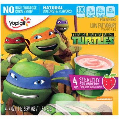 Yoplait® Teenage Mutant Ninja Turtles Stealthy Strawberry Low Fat Yogurt