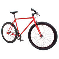 Vilano Rampage Fixed Gear Bike Fixie Single Speed Road Bike Matte Red Small 50cm