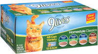 9Lives™ Homestyle Classics Wet Cat Food Variety Pack 48-5.5 oz. Cans