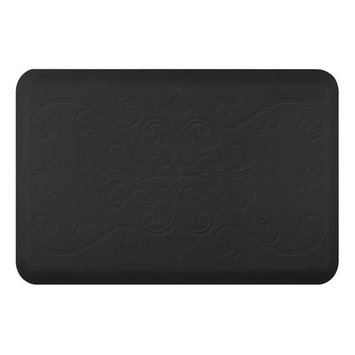 Wellness Mat Llc Wellness Mats Motif ME32WMR Entwine Anti Fatigue Mat Black