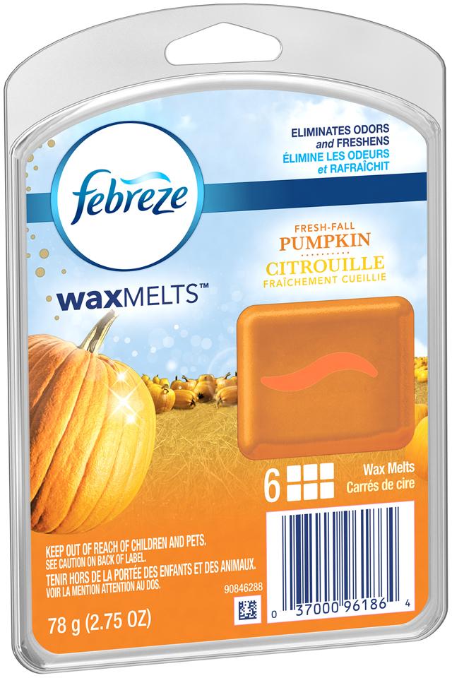 Wax Melt Febreze Wax Melts Fresh Fall Pumpkin Air Freshener (1 Count, 2.75 oz)