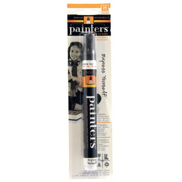 Elmers/xacto 7327 Black Medium Tip Painters Opaque Paint Marker