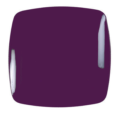 Fineline Settings, Inc Renaissance 10 Rounded Square China-Like Plates (Pack of 120), Purple