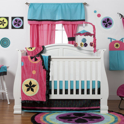 One Grace Place 10-24102 Magical Michaylas 4 Piece Crib Bedding Set