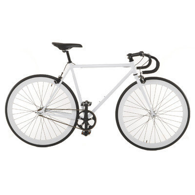 Vilano Attack Fixed Gear Bike Track Bike White Medium (54cm)