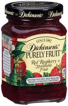 Dickinson's® Purely Fruit® Red Raspberry Spreadable Fruit 9.5 oz. Jar