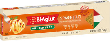 BiAglut™ Spaghetti Pasta made with Corn, Potato, and Lupin 12 oz. Box