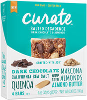 Curate™ Salted Decadence Snack Bars 4-1.59 oz. Packs