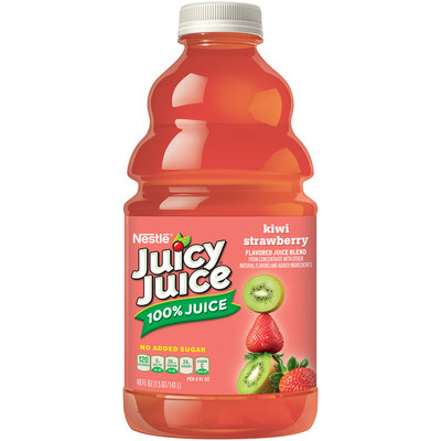 JUICY JUICE 100% JUICE Kiwi Strawberry 48 fl. oz. Plastic Bottle