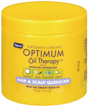 Optimum Care Hair & Scalp Quencher Oil Therapy 4.1 Oz