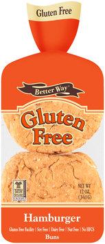 Better Way® Hamburger Buns 12 oz. Bag