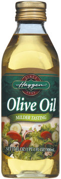 Haggen Milder Tasting Olive Oil 17 Oz Bottle