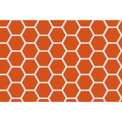 Stwd 3 Piece Honeycomb Sheet Crib Bedding Set Color: Burnt Orange