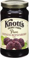Knott's Berry Farm Pure Seedless Boysenberry Jam 16 Oz Jar