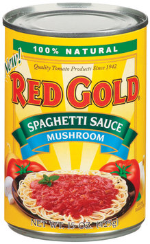 Red Gold Mushroom Spaghetti Sauce 15 Oz Can