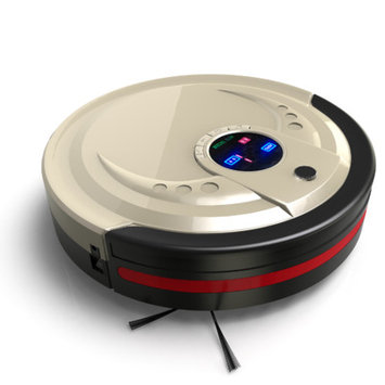 Bobsweep Usa Bobsweep - Robotic Vacuum - Champagne